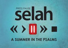 Sermon Series: Selah - Press Pause