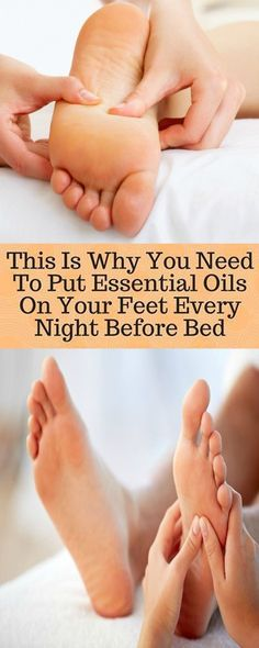 Why You Need To Put Essential Oils On The Bottom Of Your Feet Every Night Before Bed