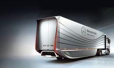 Design study: Aero trailer - Mercedes-Benz