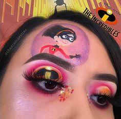 Makeup Eye Looks, Eye Makeup Art, Clown Makeup, Kiss Makeup, Disney Eye Makeup, Disney Inspired Makeup, Cartoon Makeup, Spx Makeup, Makeup 101