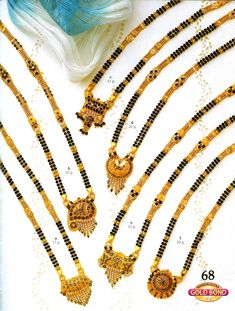 India Jewelry, Gold Jewelry, Beaded Jewelry, Gold Chain Design, Gold Mangalsutra Designs, Handmade Jewelry Designs, Statement Jewelry, Gold Earrings, Wedding Jewelry