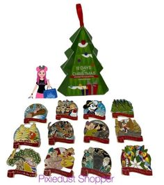 Holiday 2020 - 12 Days of Christmas Mystery PIN - Google Search 12 Days Of Christmas, Disney Pins, Mystery, Christmas Ornaments, Google Search, Holiday Decor, Christmas Jewelry, Christmas Decorations, Christmas Decor