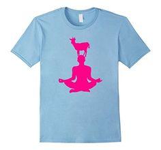 Amazon.com: Cute Goat Doing Yoga T-Shirt - LIMITED EDITION Goat Tee: Clothing