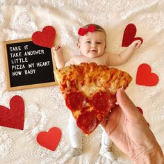 Baby Photo Inspiration Archives - The Sweet Mama Life Monthly Baby Photos, Newborn Baby Photos, Baby Girl Photos, Monthly Pictures, Baby Pictures, Valentine Picture, Valentines Day Baby, Baby Boys, Milestone Pictures
