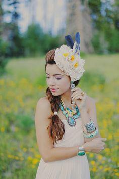 turquoise bridal jewelry, photo by Gideon Photography http://ruffledblog.com/textured-wedding-inspiration #wedding #jewelry #accessories