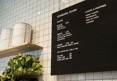 Standing Room Royal Arcade - Broadsheet Melbourne #cafe price board