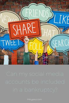 Are Social Media Profiles Considered Assets In A Bankruptcy?