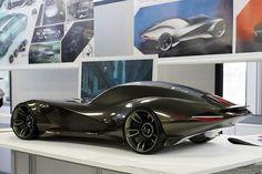 Jaguar E-Sense concept by Clark Wu