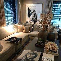 home interior design ideas Home Living Room, Interior Design Living Room, Living Room Designs, Living Room Decor, Living Room Inspiration, Home Decor Inspiration, Luxury Living, Home Fashion, Luxury Homes