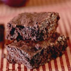These Fudgy Brownies are something special and if you like chocolate you will LOVE them!