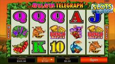 Here's a video review of Bush Telegraph mobile slots from Microgaming.  You can check out the full Bush Telegraph slot game review at http://www.slotsmobile.com/slots/bush-telegraph/  For more information on the best mobile slots casinos, mobile slots bonuses and mobile slot game reviews, please visit:  SlotsMobile.com http://www.slotsmobile.com/ #1 Mobile Slots Guide