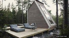 Finnish mini-cottage is ecomonical and still a modern design beauty