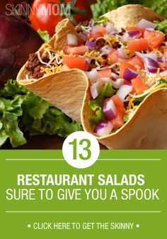 Salads aren't always as healthy as they make themselves out to be. Read what restaurant salads you should definitely stay away from!