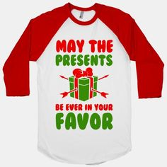 May the Presents be Ever in Your...#holidays #christmas #fashion #funny #winter #style #santa #presents #gifts #hungergames #Parody