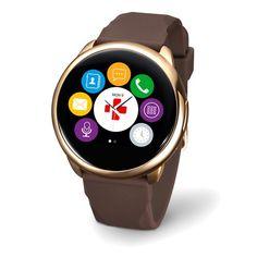 Reloj smartwatch Mykronoz ZeRound oro rosa #running #correr #sport Visita http://www.correr.es/tienda/reloj-smartwatch-mykronoz-zeround-oro-rosa/