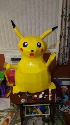 Pikachu Pinata, Pokemon, Fictional Characters, Art, Art Background, Kunst, Performing Arts, Fantasy Characters, Art Education Resources