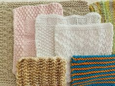 Learn to Knit, Free Projects, Needles, Yarn and How To Begin – New England's Narrow Road #beginknitting #beginner #smallknitting #faceclothknitting