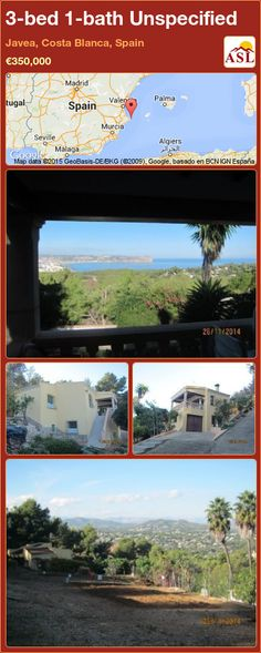 Unspecified for Sale in Javea, Costa Blanca, Spain with 3 bedrooms, 1 bathroom - A Spanish Life Central Heating, Murcia, Seville, Malaga, Second Floor, Costa, Terrace, Madrid, Spanish