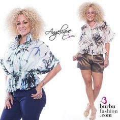 Para la oficina o para el weekend una blusa que te va encantar  disponible-->> WalmartPR | Burbufashion.com #summervibes #affordablefashion
