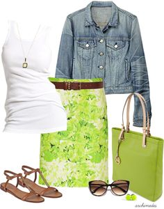 """Lime Time"" by archimedes16 on Polyvore"