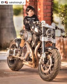 MS Dhoni's Daughter Ziva poses On His Confederate Hellcat