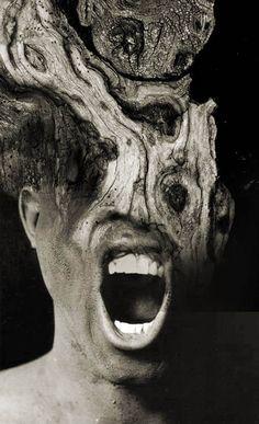 Antonio Mora Transforms Human Portraits Into Mind-Bending Illusions - Beautiful/Decay Artist & Design A Level Photography, Double Exposure Photography, Photography Projects, Nature Photography, Artistic Photography, Photomontage, Art Visage, Le Cri, Multiple Exposure