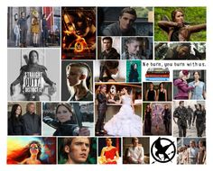 """""""Hunger Games Fangirl Fever"""" by book-girl-4 ❤ liked on Polyvore featuring art, movie, Hungergames and books"""