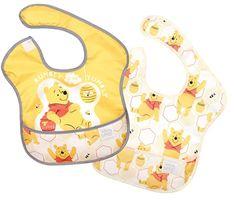Bumkins Disney Bib Winnie The Pooh SuperBib Winnie The Pooh Blanket, Disney Winnie The Pooh, Baby Disney, Toddler Bibs, Baby Bibs, Waterproof Bibs, Disney Colors, Halloween Costume Contest, Wet Bag