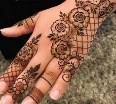 Mehndi Designs Book, Modern Mehndi Designs, Mehndi Designs For Girls, Mehndi Designs For Beginners, Mehndi Designs For Fingers, Beautiful Mehndi Design, Henna Tattoo Designs, Henna Tattoo Back, Mahendi Design