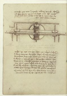 Leonardo da Vinci, Codex Madrid I.