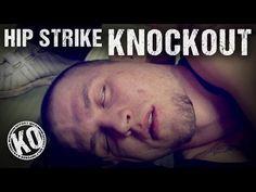 Self Defence Hip Strike Knockout - YouTube