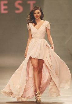 elegant prom dress - mad love <3