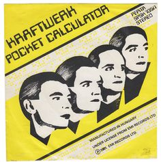 Kraftwerk  ;Poster for an Exhibition of their single covers