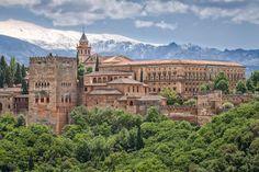 The Alhambra, Granada, Andalusia. Photo: Thinkstock