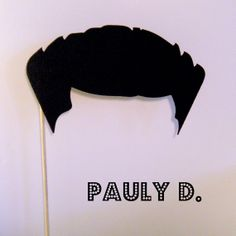 Photo booth prop Pauly D guido blow out on a by KittyDuneCuts, $4.00