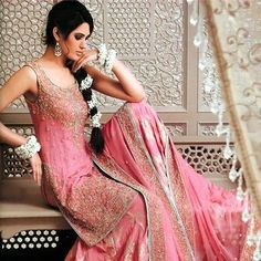 Beautiful Pink Wedding Dresses | ... pakistani bridal dresses latest pakistani fashion bridal wear dresses