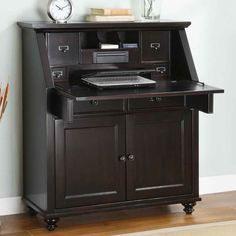 138 best secretary desk images secretary desk with hutch rh pinterest com