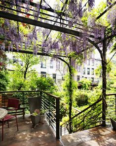 To renovate a historic Brooklyn brownstone's garden, Kim Hoyt and Evelyn Zornoza of Kim Hoyt Architecture/Landscape added a new deck and two-story steel arbor. For the next 48 hours, Hoyt and Zornoza will be available to answer any and all questions. Ask away in the comments section below.