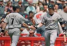 Craig Biggio and Jeff Bagwell, Houston Astros