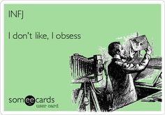 What are you currently obsessing over, INFJs? #infj #infjlife
