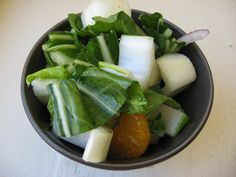 she's in the kitchen: crunchy bok choy salad