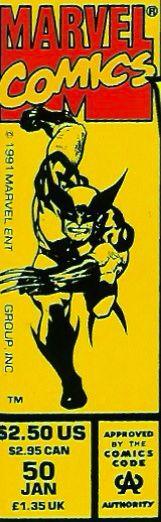 Marvel corner box art - Wolverine #50 (I loved this cover)