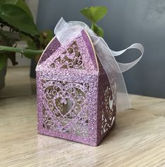Baby Shower Party Favors, Baby Shower Parties, Chocolate Gift Boxes, Wedding Favor Boxes, Birthday Favors, Pink Love, Tea Party, Decorative Boxes, Purple