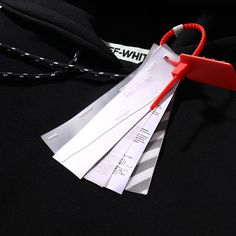 Off White Hang Tag