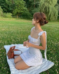 Cute Casual Outfits, Summer Outfits, Girl Outfits, Fashion Outfits, Dress Outfits, Girl Fashion, Summer Dresses, Aesthetic Fashion, Aesthetic Girl