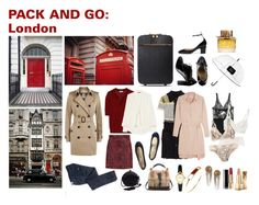 """""""Pack and go: London"""" by nina-lala ❤ liked on Polyvore featuring STELLA McCARTNEY, Burberry, Miss Sixty, Totême, Vivienne Westwood Anglomania, Balmain, Forever 21, Valentino, French Sole FS/NY and Lanvin"""