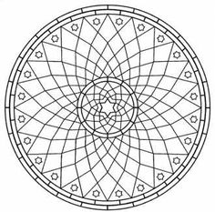 Мандалы - раскраски с геометрическим узором, мандалы для детей