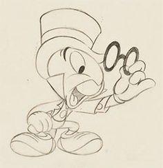 Jiminy Cricket by Ward Kimball