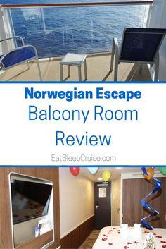 Norwegian Escape Balcony Room Review