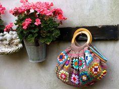 MARILAC ARTESANATOS: Passo a passo de uma linda bolsa